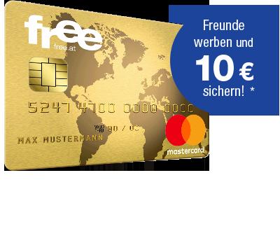 Free Mastercard Gold Kreditkarte Dauerhaft Gebuhrenfrei